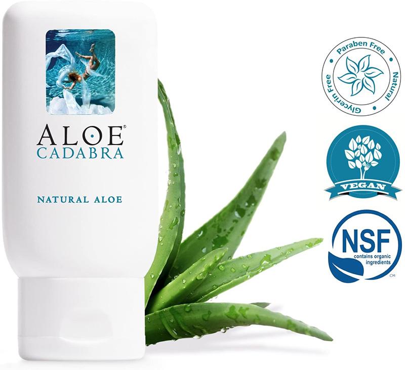 Aloe Cadabra Natural Organic Personal Lubricant - 2.5 oz by Seven oaks farm