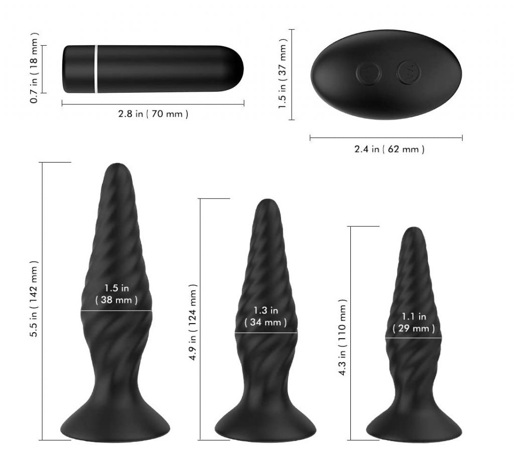 Essai Plug anal NightFly avec vibromasseurs Bullet stimulateur de la prostate